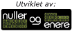 Nuller og Enere logo